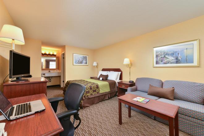 Americas Best Value Inn San Jose Convention Center - San Jose - Bedroom