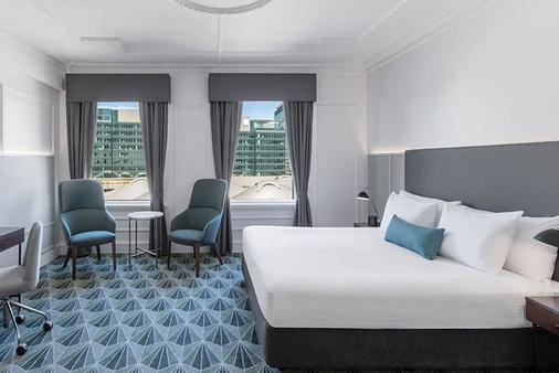 The Savoy Hotel On Little Collins Melbourne - Melbourne - Bedroom