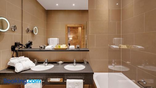 Morosani Schweizerhof - Davos - Phòng tắm