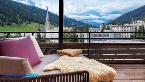 Morosani Schweizerhof - Davos - Ban công