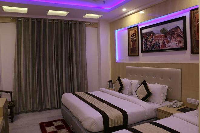 Hotel All Iz Well - Neu-Delhi - Schlafzimmer