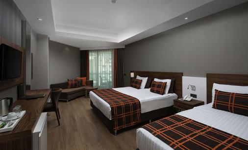 Side Sungate Hotel & Spa - Side (Antalya) - Phòng ngủ