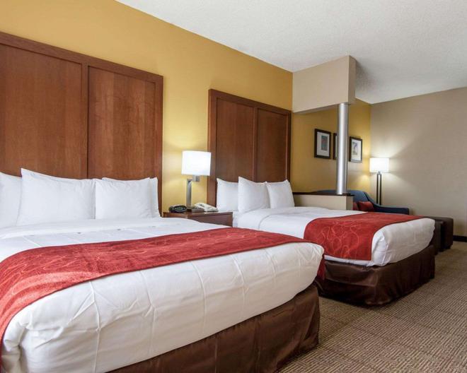 Comfort Suites Central/I-44 - Tulsa - Habitación