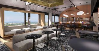 Hôtel Les Trois Couronnes - Carcassonne - Lounge