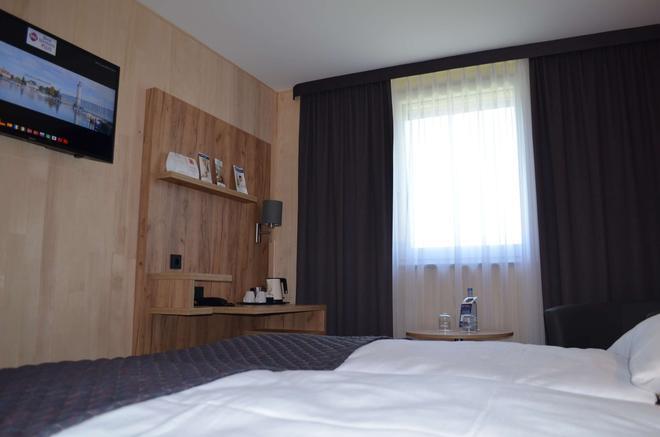 貝斯特韋斯特優質濱海明星林道酒店 - 巴伐利亞林道 - 臥室