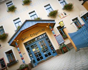 Buntes Haus Seiffen - Hotel Erbgericht - Seiffen - Building