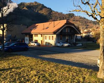 La Grange - Val-de-Charmey - Gebouw