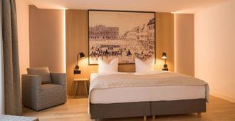 Hotel Bayerischer Hof - Erlangen - Slaapkamer