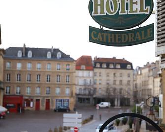 Hotel De La Cathedrale - Metz - Outdoors view
