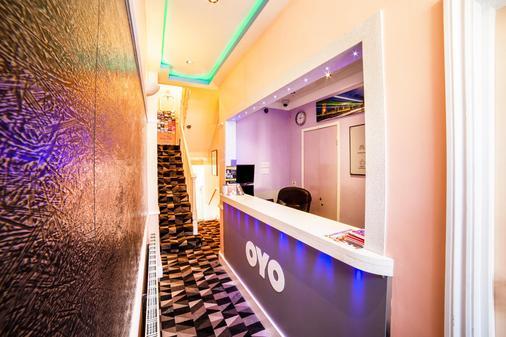 OYO Vegas Hotel - London - Rezeption