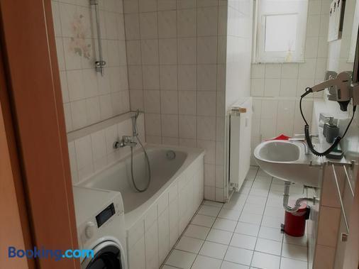 Hotel Fabrice - Gera - Bathroom