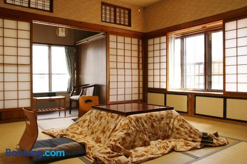 Takasagoya Ryokan - Yamagata - Κρεβατοκάμαρα