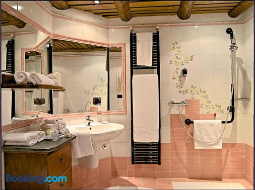 La Brace Hotel & Restaurant - Forcola - Bathroom