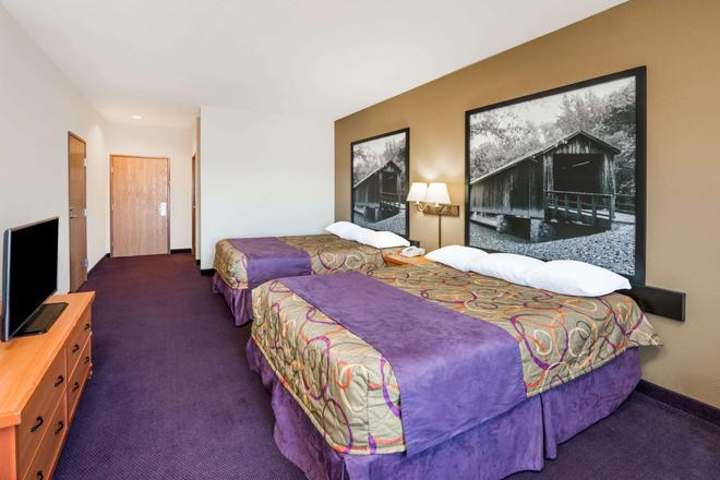 Super 8 by Wyndham Columbia East - Columbia - Bedroom