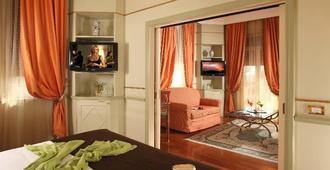 โรงแรม เดลยี อรันชี - โรม - ห้องนอน