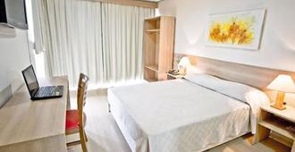 Dan Inn Express Porto Alegre - Porto Alegre - Schlafzimmer