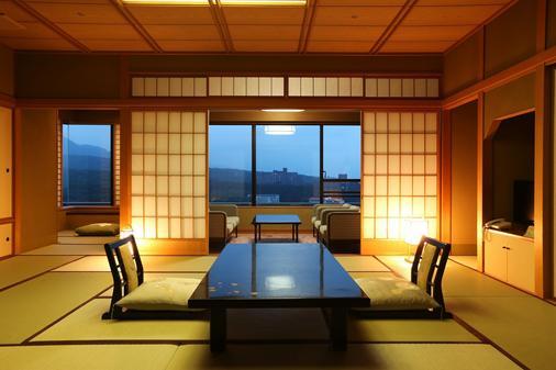 櫻井飯店 - 草津町 - 餐廳