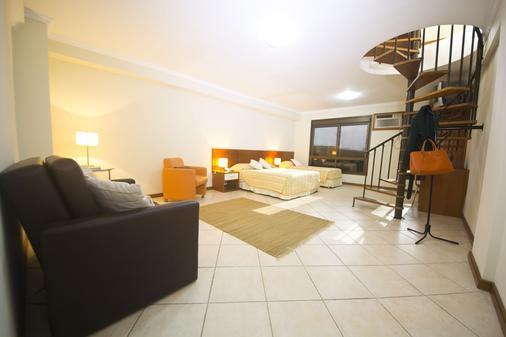 Metropolis Apart Hotel - Porto Alegre - Bedroom