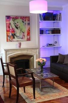Hotel des Celestins - Lyon - Phòng khách