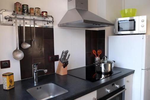 Hotel des Celestins - Lyon - Phòng bếp