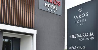 Hotel Faros - גדנסק - בניין