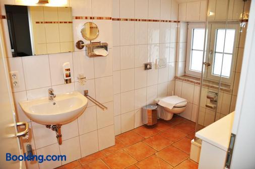Die Post Landgasthof Aufkirchen - Berg am Starnberger See - Bathroom