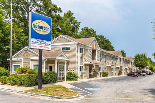 Suburban Extended Stay Abercorn - Savannah - Building