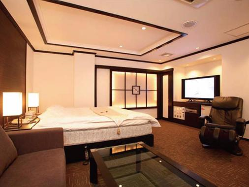 Hotel Kyoto Wakura - Adults Only - Kyōto - Schlafzimmer