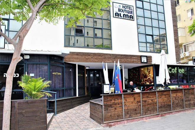 Hotel Boutique Alma - Netanja - Gebäude