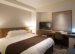 Ofunato Plaza Hotel - Ōfunato - Slaapkamer
