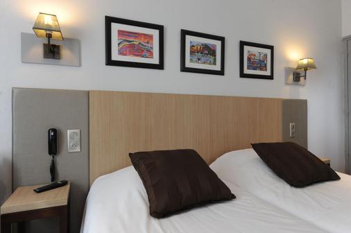 卡明酒店 - 勒哈芙 - 勒阿弗爾 - 臥室