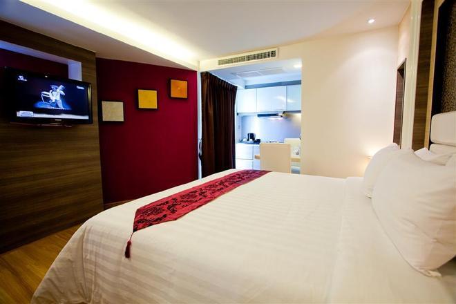 素坤逸20號iCheck旅館公寓 - 曼谷 - 臥室