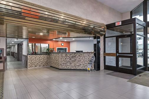 Airport Traveller's Inn - Calgary - Front desk