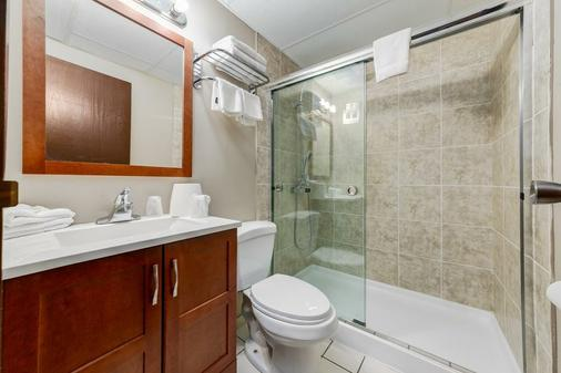 Airport Traveller's Inn - Calgary - Bathroom