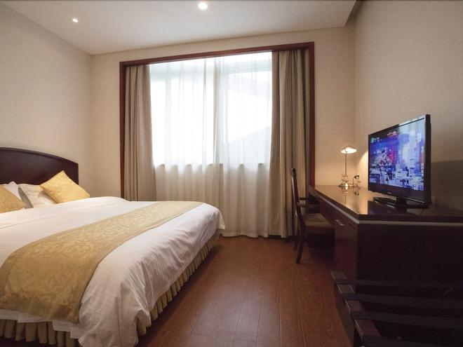 Greentree Alliance Suzhou Wuzhong North Zhongshan Road Jinmanting Hotel - Suzhou - Bedroom