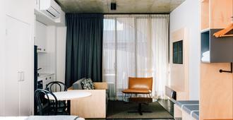 尾流百老匯公寓酒店 - 雪梨 - 客廳