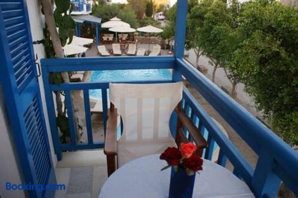 Dimitra - Naxos - Balcony