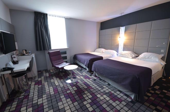 基里亞德迪容中央酒店 - 狄戎 - 第戎 - 臥室