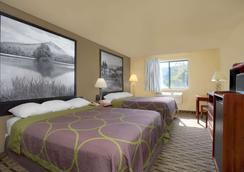 Super 8 by Wyndham Lynchburg VA - Lynchburg - Bedroom