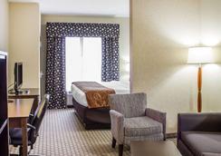 Comfort Suites Wilson I-95 - Wilson - Bedroom