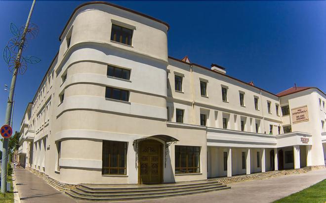 Hotel Registon - Samarkand - Building