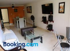 Apartamento buritaca 302 el rodadero - Gaira - Living room