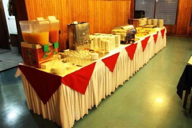 Hotel Avenida Palace - Santos - Buffet