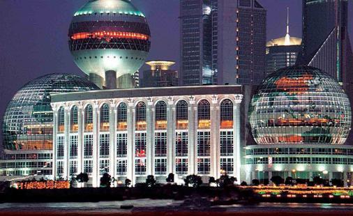 Oriental Riverside Hotel - Shanghai Int'L Convention Center - Shanghai - Building