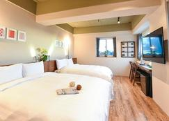 Old School - Nanfun House Hotel - Tainan - Bedroom