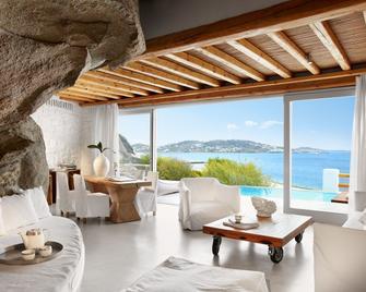 Cavo Tagoo Hotel - Mykonos - Wohnzimmer