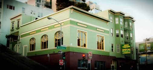 Green Tortoise Hostel - San Francisco - Rakennus