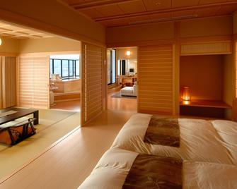 Takinoyu Hotel - Tendō - Slaapkamer