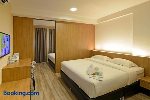 De Parkview Hotel - Ipoh - Bedroom