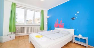 Patio Hostel - ברטיסלבה - חדר שינה